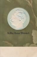 Prägekarte Kaiser Wilhelm II Nicht Gelaufen - Weltkrieg 1914-18