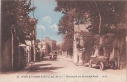 SAINT QUAY PORTRIEUX (  22 )   Boulevard Du Maréchal Foch ( Port Gratuit ) - Saint-Quay-Portrieux