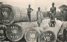"""CPSM COTE D'IVOIRE """"Billes De Bois Précieux"""" - Elfenbeinküste"""