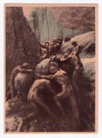 Carta Assorbente Divina Commedia Tavola VIII(Inferno) - Dante Alighieri CROMOSCULTURE DI MASTROIANNI - Collezioni & Lotti