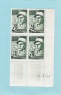 POSTES ALGERIE - OEUVRES SOCIALES DE LA LEGION ETRANGERE 1954- MARIN - DUFRESNE- 15F + 5F - 4 TIMBRES - Algeria (1924-1962)