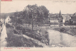 Cpa Belgique PEPINSTER - Vue Sur L'Eglise - Pepinster