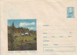 APUSENI MOUNTAINS- STANISOARA VILLAGE, COVER STATIONERY, ENTIER POSTAL, 1969, ROMANIA - Enteros Postales