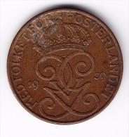 1939 Sweden 5 Ore Coin - Sweden