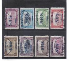 OPK355  JUGOSLAWIEN 1917/20 MICHL NR  76/83 Used / Gestempelt ZÄHNUNG SIEHE ABBILDUNG - 1919-1929 Kingdom Of Serbs, Croats And Slovenes