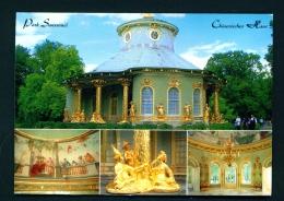 GERMANY  -  Potsdam  Park Sanssouci  Multi View   Used Postcard As Scans - Potsdam