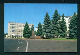 BELARUS  -  Baranovchi  Lenin Square  Used Postcard As Scans - Belarus
