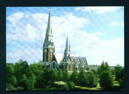 FINLAND  -  Joensuun Church  Used Postcard As Scans - Finland