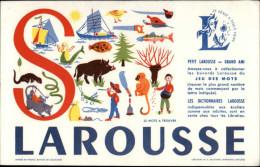 BUVARDS - LAROUSSE - LETTRE S - - Vloeipapier