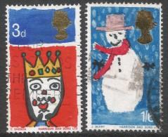 Great Britain. 1966 Christmas. Used Complete Set. SG 713-714 - 1952-.... (Elizabeth II)