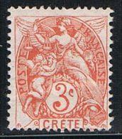 CRETE : N° 3 * - PRIX FIXE - - Crete (1902-1903)