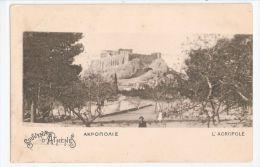 GREECE - SOUVENIR D'ATHENES / ATHENS - L'ACROPOLE - 1900s - Griechenland