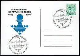 Schaken Schach Chess échecs Ajedrez - Belgie 1980 -Moretus Hobeken - Echecs