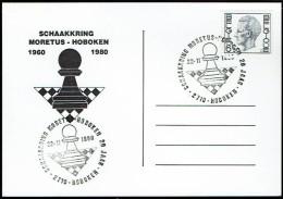 Schaken Schach Chess échecs Ajedrez - Belgie 1980 - Moretus Hobeken - Echecs