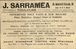 CHROMOS - Magasin SARRAMEA à TOULOUSE - Magasin De Vetements - Moulin à Vent - Chromos
