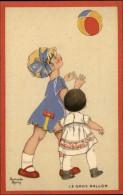 CHROMOS - PUBLICTE POUR CHAUSSURES RAOUL - Dessin D'Armande Martin - Enfant Jouant Au Ballon - Chromos