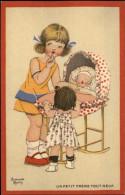 CHROMOS - PUBLICTE POUR CHAUSSURES RAOUL - Dessin D´Armande Martin - Landau - Bébé - Autres