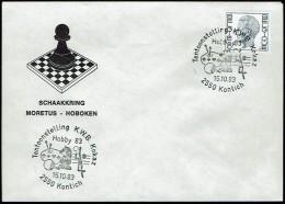 Schaken Schach Chess échecs Ajedrez - Belgie 1983 - Kontich - Echecs