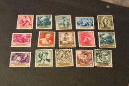 K10635-  Stamps  MNH Spain -paintings - Arte