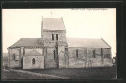 CPA Osmanville, église En Partie Romane - France
