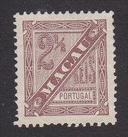 Macao, Scott #P4, Mint No Gum, Newspaper Stamp, Issued 1893 - Autres