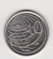 CAIMAN ISLANDS   10 CENTS   ANNO 1992 UNC - Cayman (Isole)