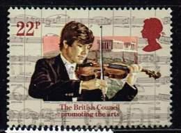 GB 1984, Michel# 1009 O Violine - 1952-.... (Elizabeth II)