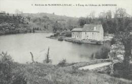 87 Haute Vienne Environs De Saint Sornin Leulac L'Etang Du Château De Dompierre TBE - Other Municipalities