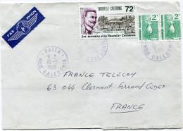 NOUVELLE-CALEDONIE LETTRE PAR AVION DEPART PAITA 10-5-1990 POUR LA FRANCE - Cartas