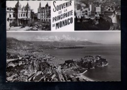 N1792 Souvenir De La PRINCIPAUTE DE MONACO Et Vue Panoramique - Photographie Veritable - Vera Fotografia - Monaco