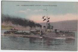 CPA -Commandant Lucas, Contre-torpilleur - Guerre