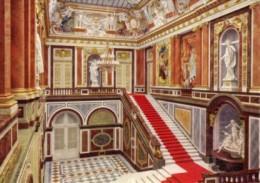 Cartolina KÖNIGSSCHLOß HERRENCHIEMSEE, TREPPENHAUS STAIRCASE,CAGE D'ESCALIER - PERFETTA L88 - Non Classificati