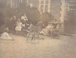 Photo Ancienne 1903 La Maison D´ambroise Clerc à Ecully Lyon - Places