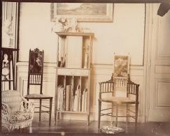 Photo Ancienne 1903 Intérieur De La Maison D´ambroise Clerc à Ecully Lyon - Places