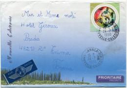 NOUVELLE-CALEDONIE LETTRE PAR AVION DEPART CANALA 24-7-1998 POUR LA FRANCE - Cartas