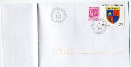 NOUVELLE-CALEDONIE LETTRE AVEC OBLITERATION DUMBEA 8-2-1999 NOUVELLE-CALEDONIE - Cartas