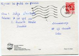 NOUVELLE-CALEDONIE CARTE POSTALE DEPART DUMBEA 1-4-1993 POUR NOUMEA - Nueva Caledonia