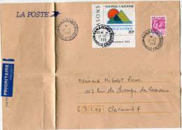 NOUVELLE-CALEDONIE LETTRE DEPART KAALA-GOMEN 17-12-1998 POUR LA FRANCE - Cartas