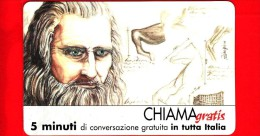 ITALIA - Scheda Telefonica - Nuova - CHIAMAGRATIS - 453 - Leonardo Da Vinci - MASTER - Italia