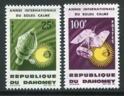 Dahomey Y&T N°216 Et 217 Neufs Avec Charnière * - Benin – Dahomey (1960-...)