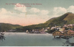 POSTAL DE PANAMA DE BAY OF TABOGA, WITH SANATORIUM IN THE DISTANCE  ( I.L. MADURO) - Panamá