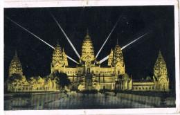 16186. Postal ANGKOR VAT (Camboya) Vue De Nuit - Camboya