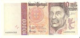 PORTUGAL 10000 10.000 ESCUDOS BANKNOTE 1997    2 Scans. - Portogallo