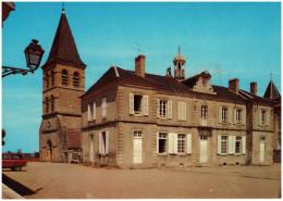 Frankrijk/La France, Saint-Révérien, L´Église Et L'Hôtel De Ville, 1973 - Autres Communes