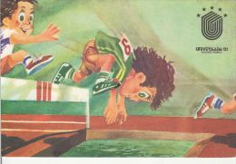34580- HURDLE RACE, WORLD UNIVERSITY GAMES, ATHLETICS - Athlétisme