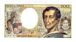 MONTESQUIEU - 200F 1994 - A.165 - 200 F 1981-1994 ''Montesquieu''