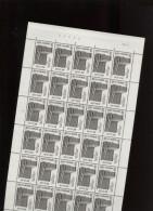 Belgie 1976 1803 DVDP Muntcentrum La Monnaie Brussel Luppi Full Sheet MNH Plaatnummer 1 - Full Sheets