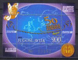 FRZ275 - YUGOSLAVIA  1998, Serie Catalogo Unificato BF N. 49  *** - Jugoslavia