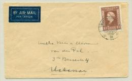 Nederlands Indië  - LB-stempel WAIKABOEBAK Op LP-brief Naar Makassar - Netherlands Indies