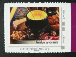 2009_04. Collector Rhône-Alpes. Fondue Savoyarde. Adhésif (lettre 20g). Neuf [gastronomie, Cheese, Fromage] - Collectors